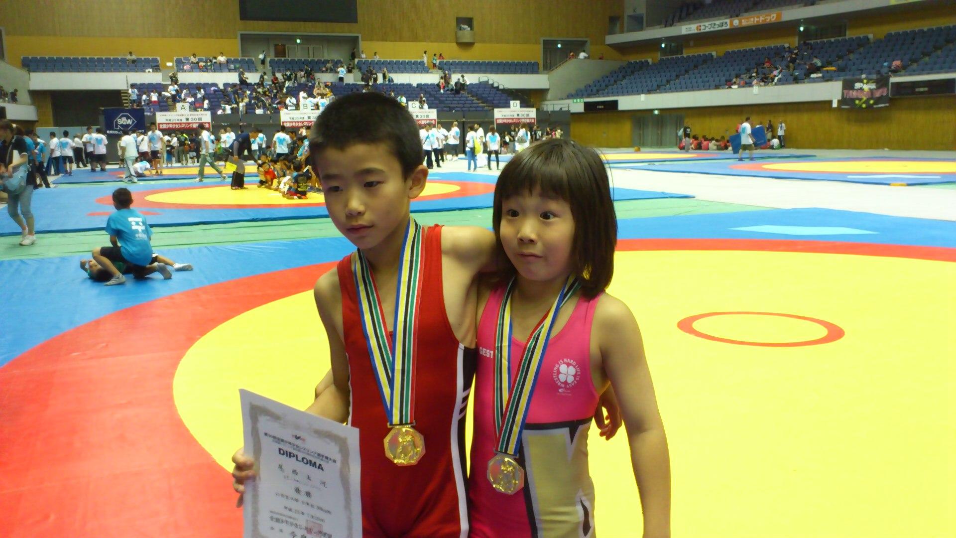全国 少年 少女 レスリング